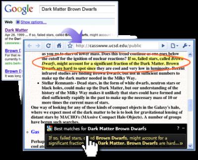 Google Quick Scroll – Schneller googlen in Chrome