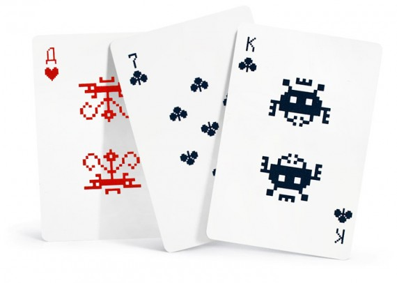 Space Invaders Pokerset