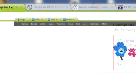 Mit mehreren Tabs gleichzeitig interagieren – Google Chrome