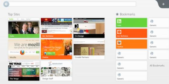 Windows 8 Version von Firefox – Endlich mal wieder hübsch!