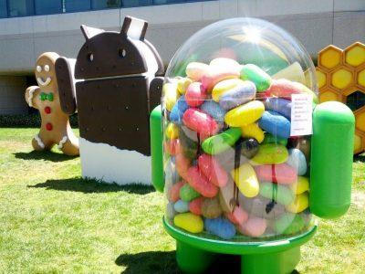 Jelly Beans im Google Plex