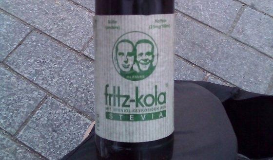 fritz-kola Stevia – Weg mit den Süßstoffen