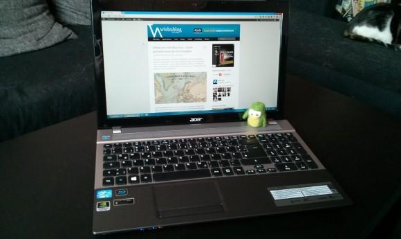Acer Aspire V3-571G – Erster Eindruck