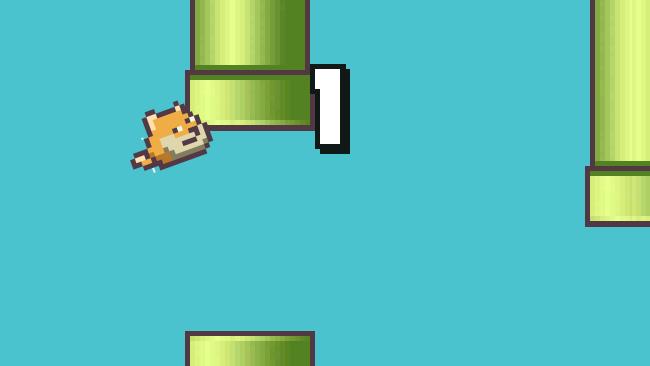 Leb wohl Flappy Bird – Hallo Flappy Doge!