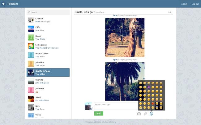 Telegram-App am PC nutzen