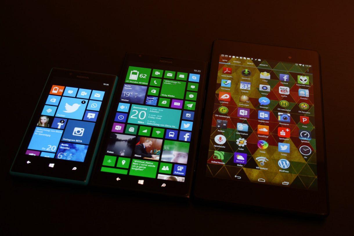 Nokia Lumia 1520 Vergleich mit Lumia 720 und mit Nexus 7 (2013) - 3