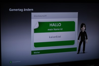 Xbox Gamertag Neuer Name