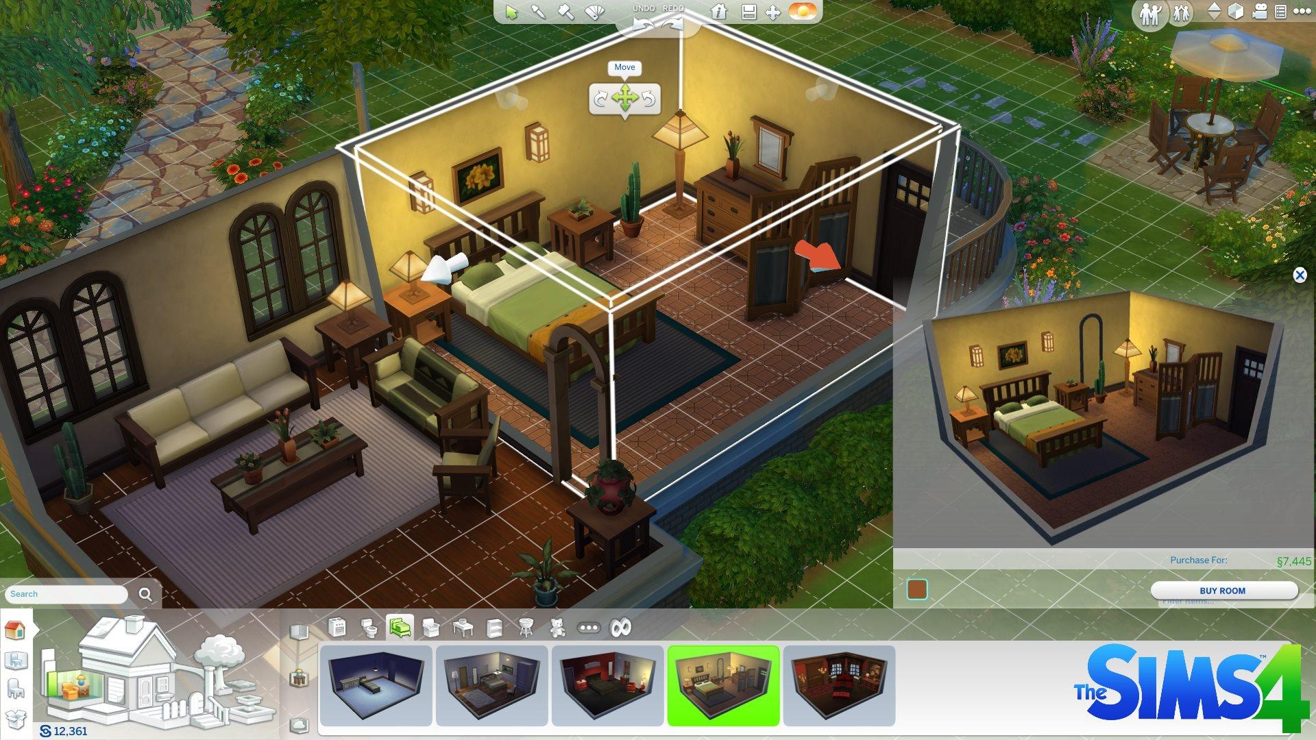 Die Sims 4 Baumodus