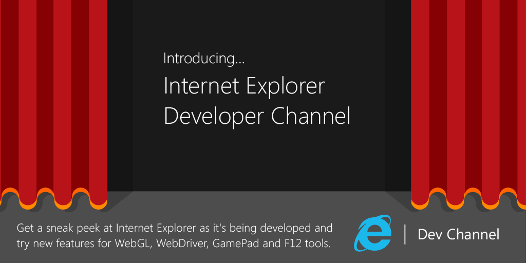 Internet Explorer Entwickler-Channel