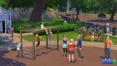 Die Sims 4 - EA aeussert sich zu fehlenden Inhalten - Sims im Park