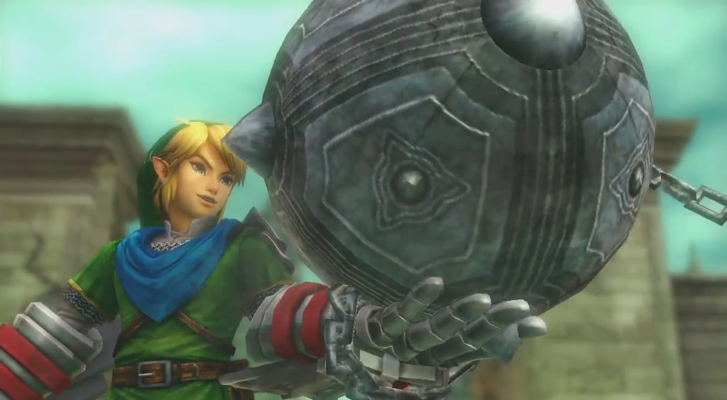 Hyrule Warriors - Link mit Krafthandschuh