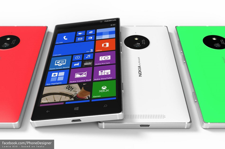 Nokia Lumia 830 Konzept