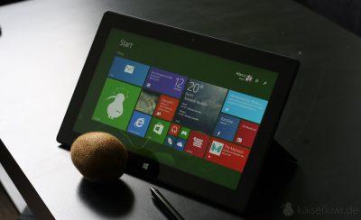 Surface Pro 2 - Frontsicht