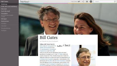 Wikipedia in hübsch mit WikiWand