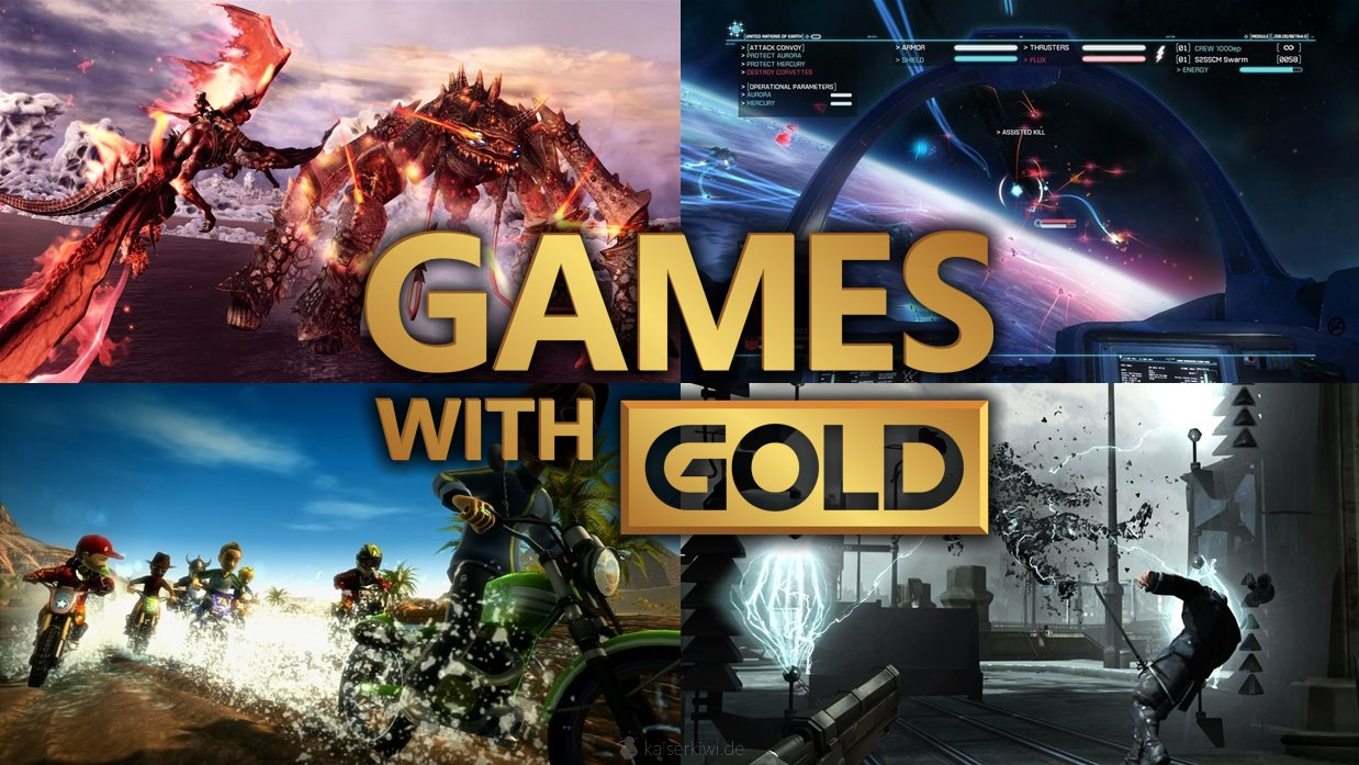 Games with Gold August 2014