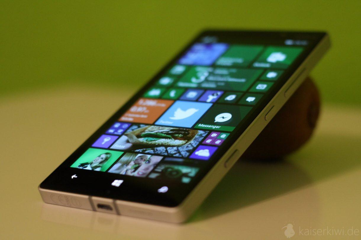 Lumia 930 Test -  Lumia auf Kiwi