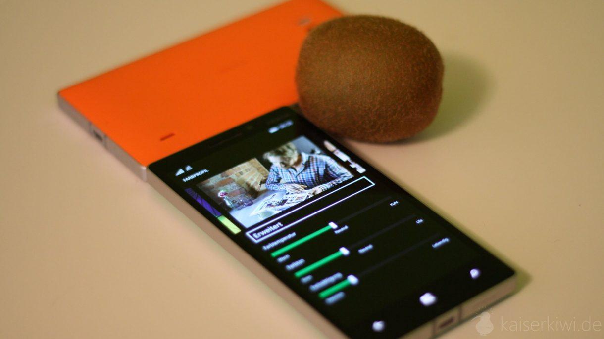 Lumia 930 Test -  Settings