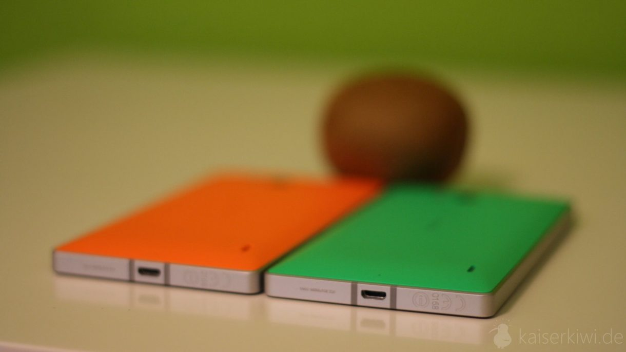 Lumia 930 Test -  gruen und orange