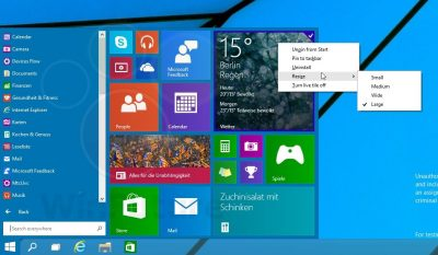 Bestätigt: Altes Startmenü im Windows 8-Nachfolger optional