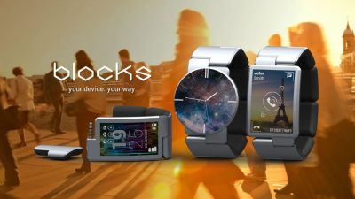 Blocks – Die modulare Smartwatch von den Phonebloks-Machern