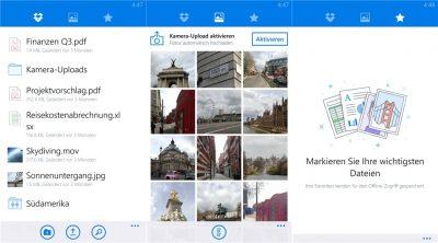 Dropbox für Windows Phone offiziell erschienen