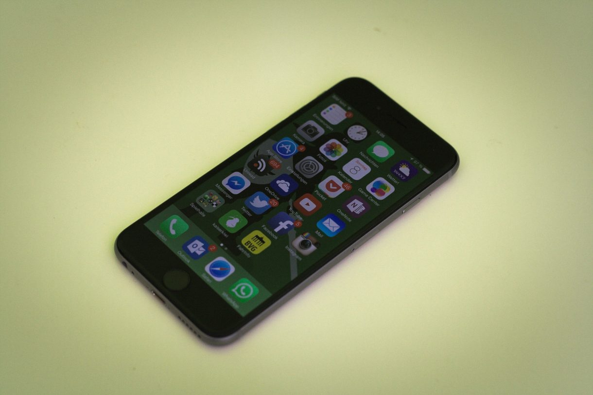 iPhone 6 Test Homescreen