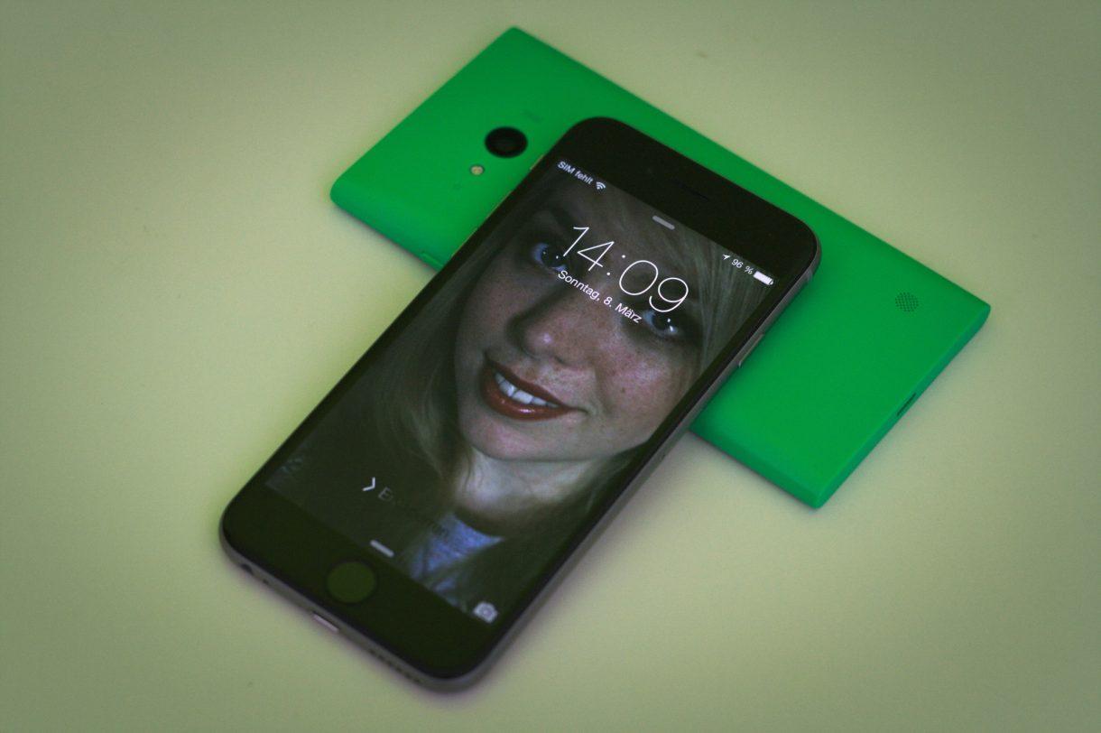 iPhone 6 Test Lockscreen