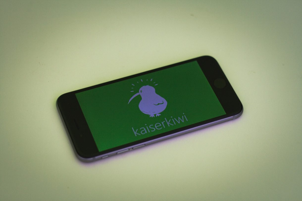 iPhone 6 Test kaiserkiwi Logo