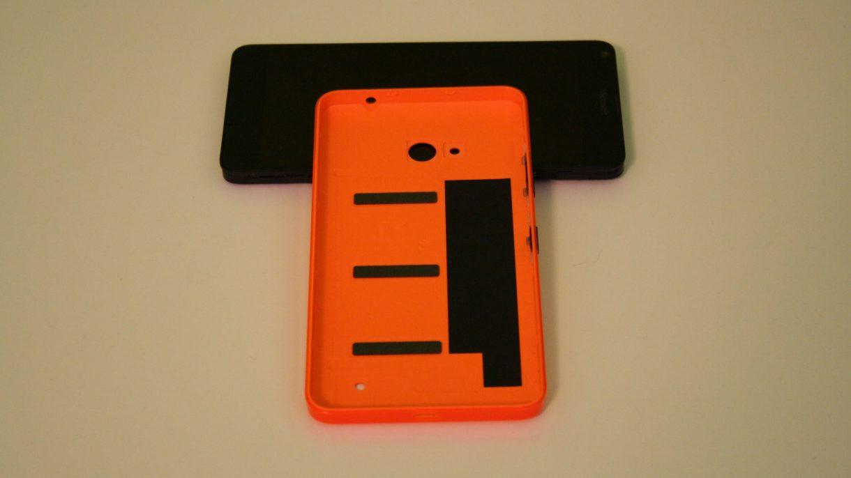 Lumia 640 offen