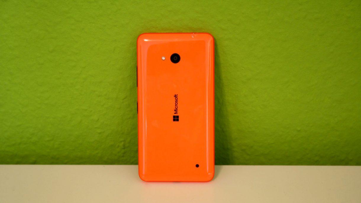 Lumia 640 von hinten