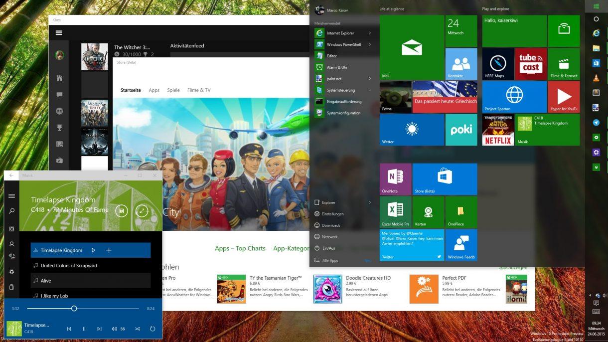 Windows 10 Desktop Apps