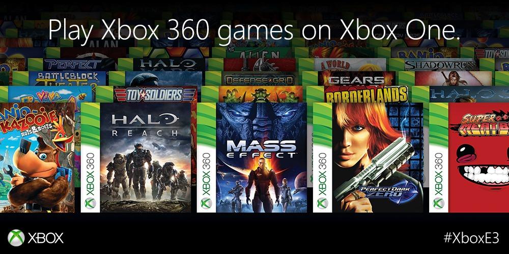 Xbox 360 Spiele auf der Xbox One