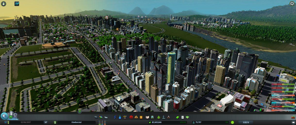LG 29UM67-P Screenshot Cities Skylines
