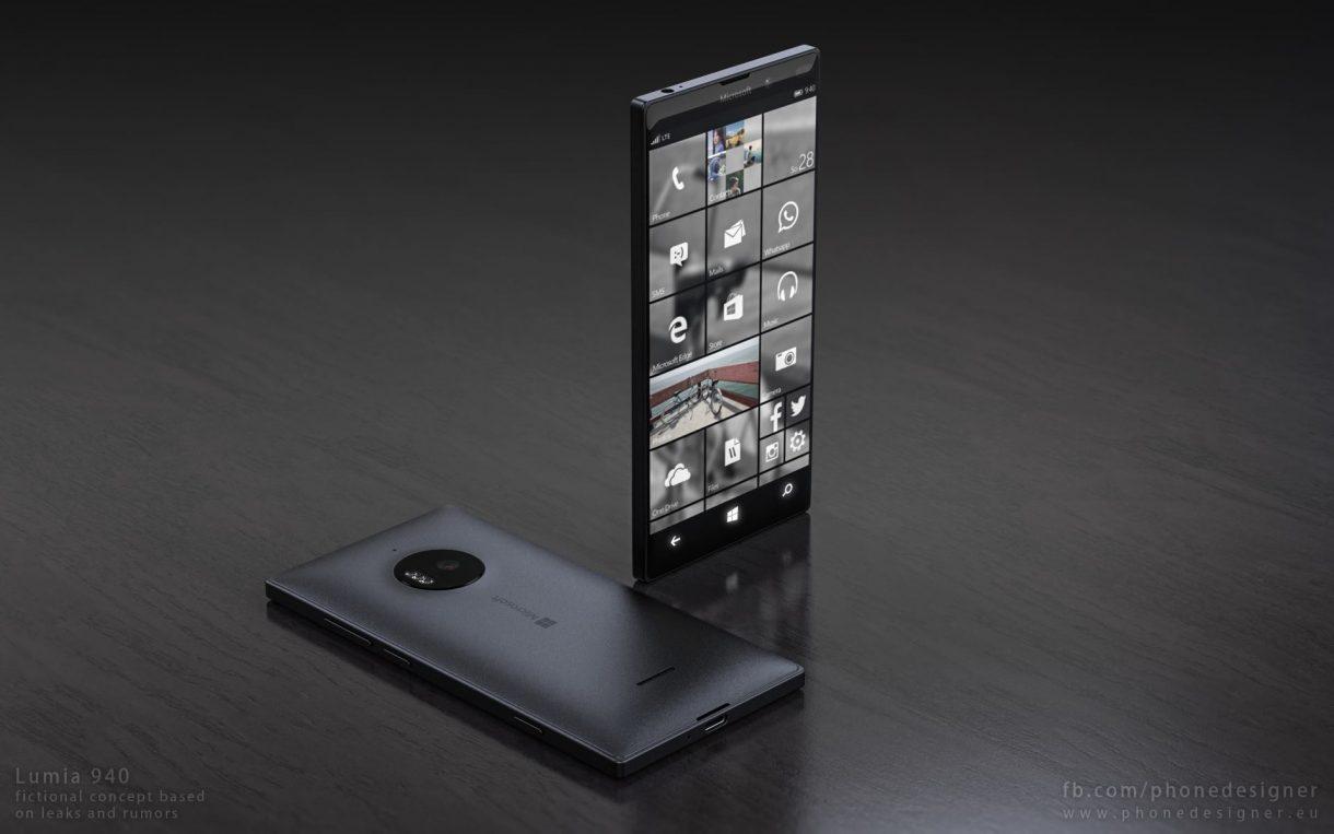 Lumia 940 Konzept - Phone Designer
