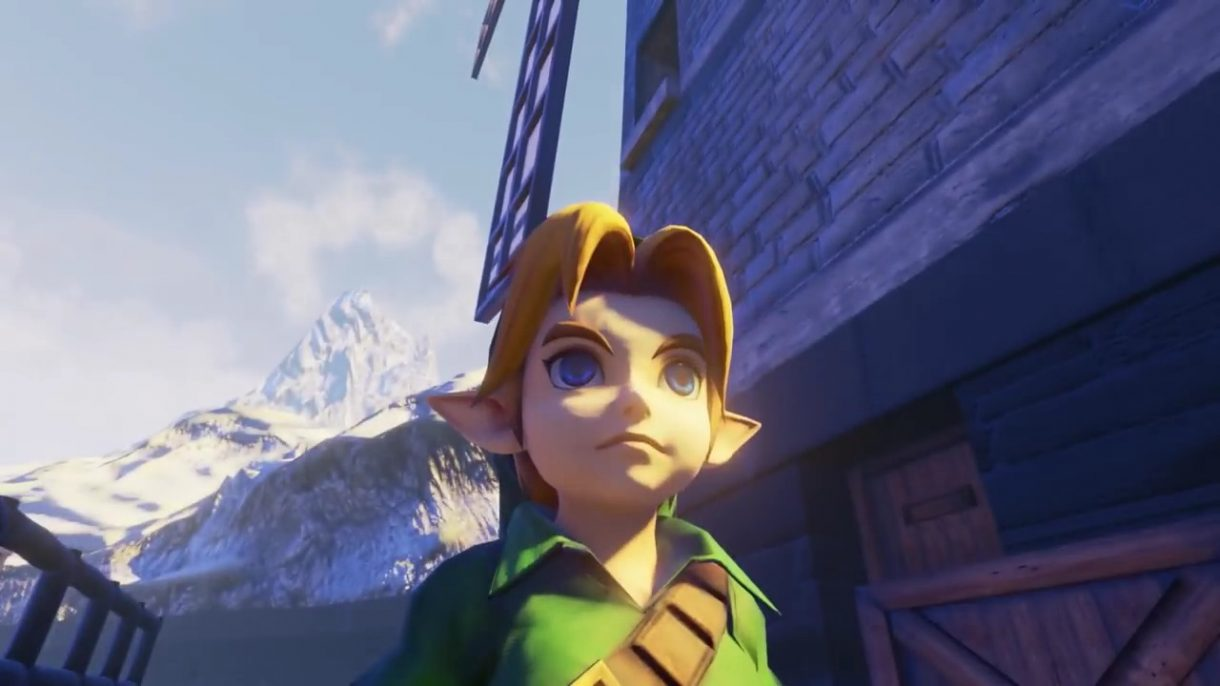 The Legend of Zelda Ocarina of Time meets Unreal Engine 4