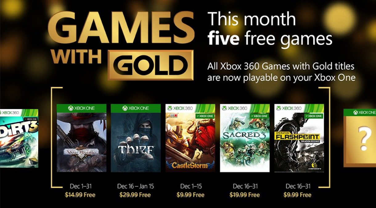 Games with Gold – Dezember