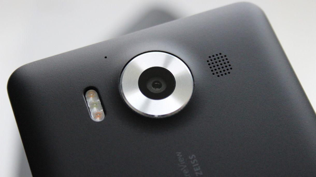 Microsoft Lumia 950 - Kamera
