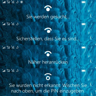 Windows Hello on Lumia 950