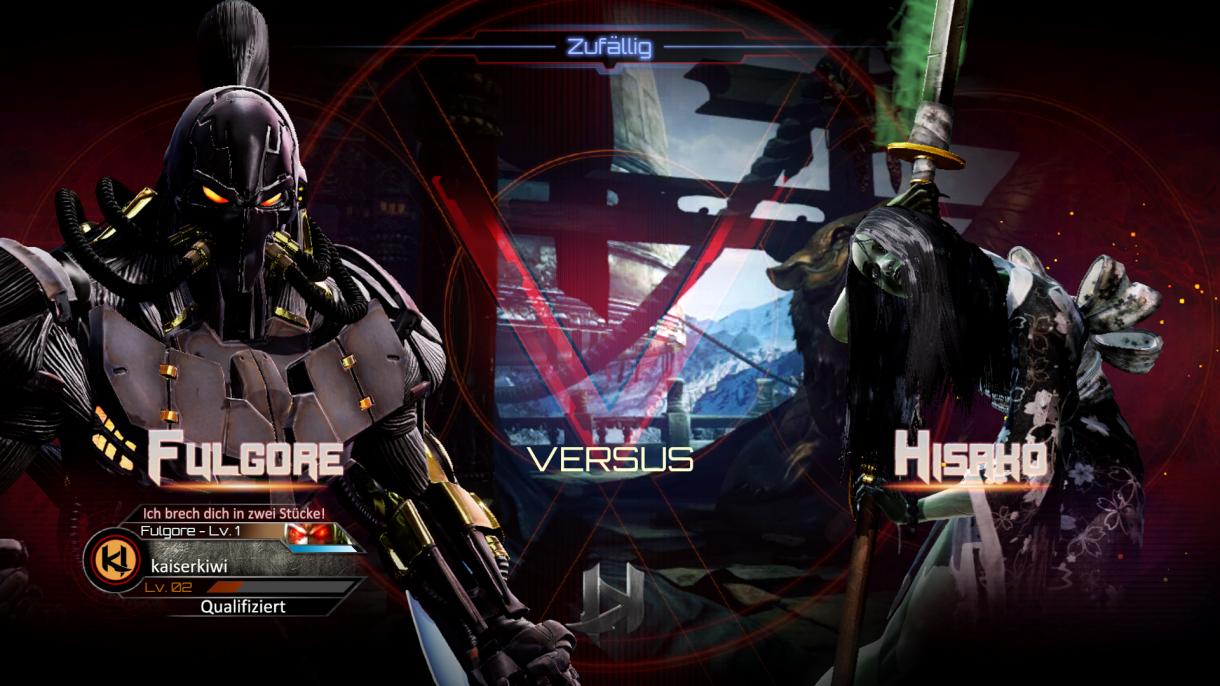 Killer Instinct - Fulgore vs Hisako