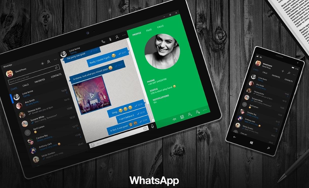 WhatsApp Universal App for Windows 10