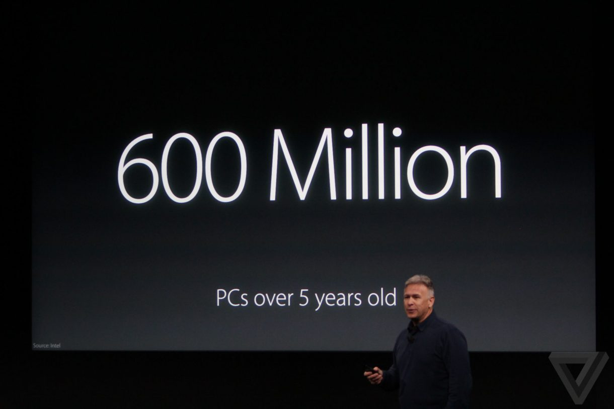 600 million pcs are older than 5 years - apple 2016