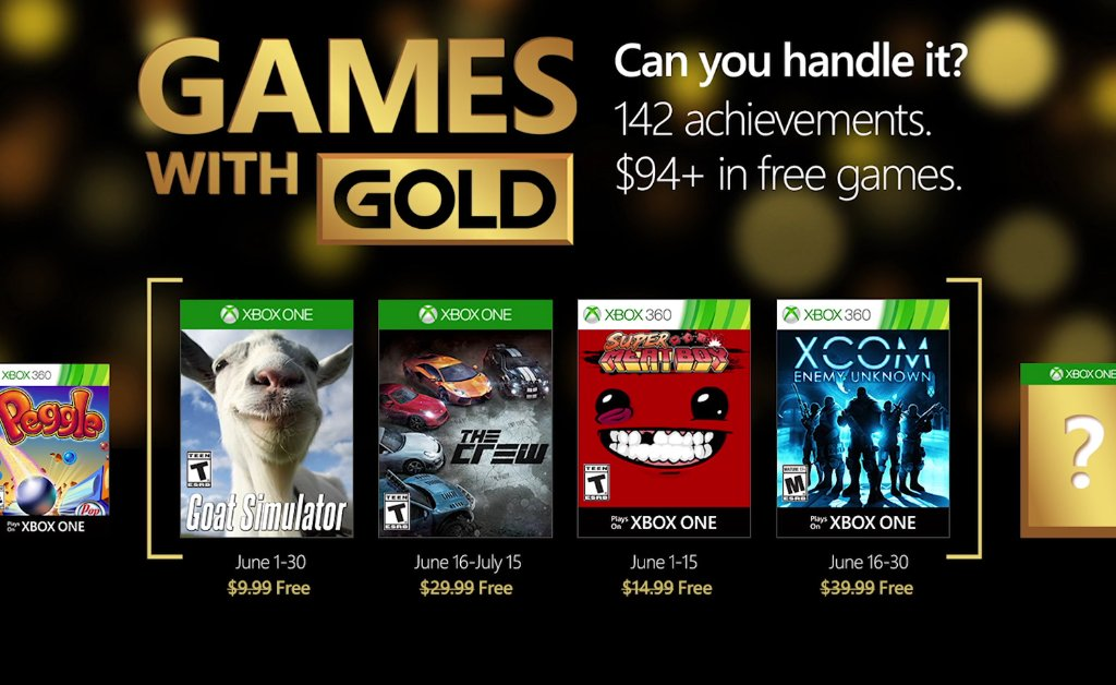 Games with Gold Juni