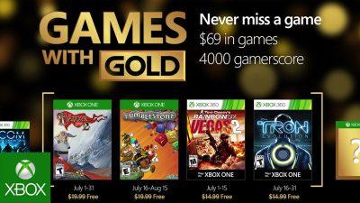 Games with Gold im Juli – Banner Saga 2, Tron Evolution und mehr