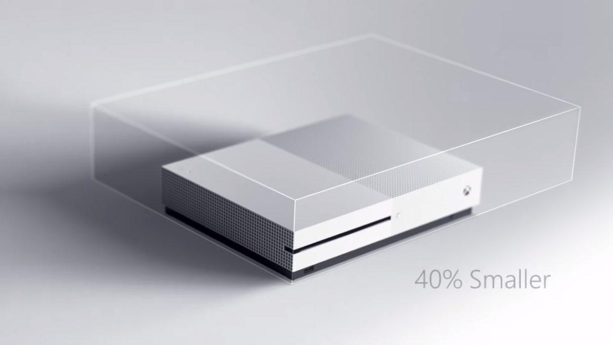 Xbox One S - 40 Prozent kleiner