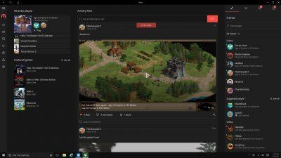 Xbox One Summer Update 2016 Xbox App