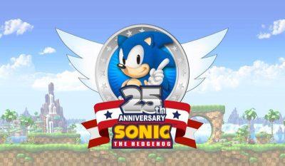 Sonic The Hedgehog wird 25 – gleich zwei neue Titel angekündigt