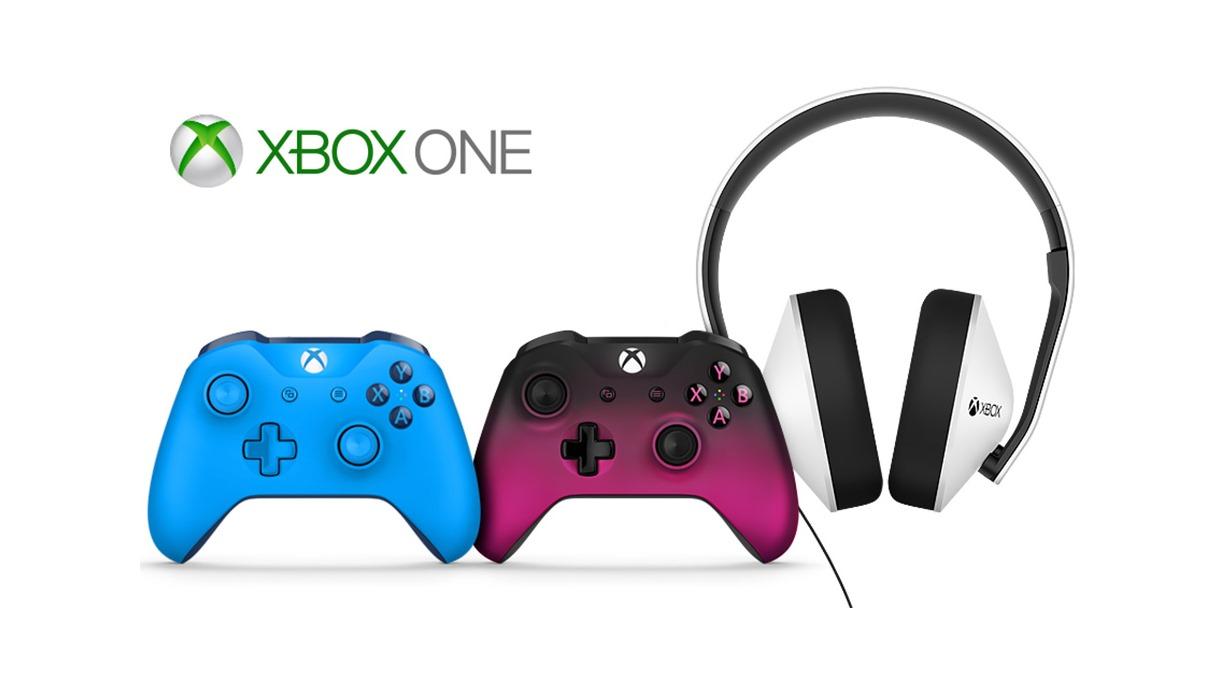 weitere farben f r die xbox one s neue controller und ein neues xbox headset. Black Bedroom Furniture Sets. Home Design Ideas
