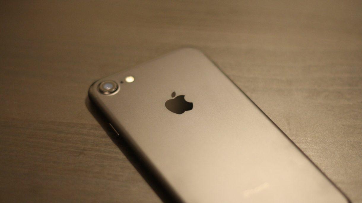 iPhone 7 von hinten