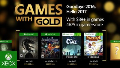 Games with Gold im Januar – World of Van Helsing: Deathtrap, Killer Instinct Staffel 2 und mehr