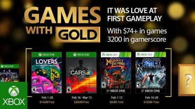 Games with Gold im Februar– Project Cars, Monkey Island 2, Star Wars und mehr…